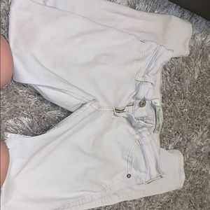 Tan Abercrombie & Fitch jeans
